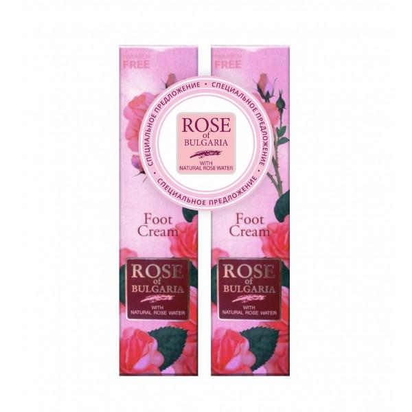 ПРОМО-набор Крем для ног «Rose of Bulgaria» 1+1