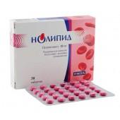 Нолипид для лечение атеросклероза, ишемической болезни сердца, стенокардии, инфаркта, атеросклероза
