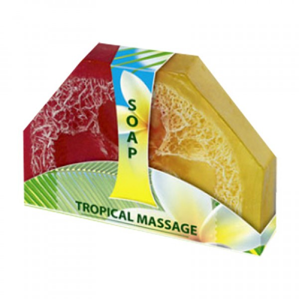 Мыло ручной работы «Тропический массаж»