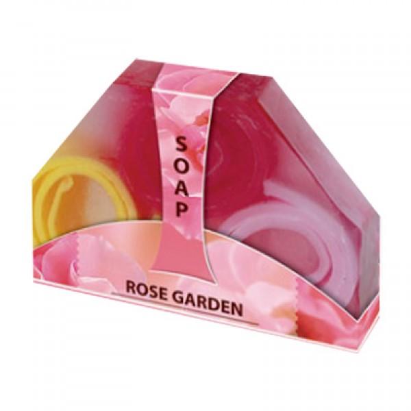 Мыло ручной работы «Розовый сад»