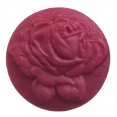 Мыло ручной работы «Цветок Розы» круглое