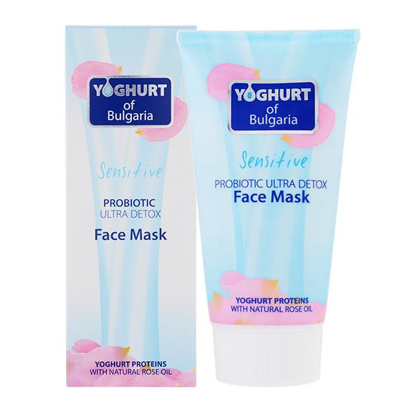 Маска - пробиотик ультра очищающая для лица Face Mask Ultra Detox Yoghurt of Bulgaria