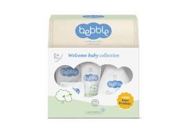 Подарочный набор Bebble (крем-мыло, шампунь для волос и тела, крем под подгузник, крем для тела, масло для тела)