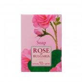 Мыло с частичками лепестков роз Rose of Bulgaria