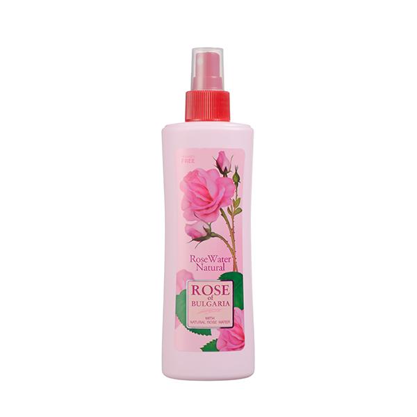 Розовая вода Rose of Bulgaria с пульверизатором