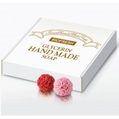 Мыло ручной работы «Цветок Розы», клубок роз, 1 мыло