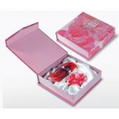Подарочный набор Rose of Bulgaria (Глицериновое мыло Роза, Духи Rose 25мл с тканью внутри)