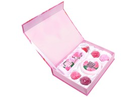 Подарочный набор Rose of Bulgaria № 1 (розовая вода,натуральное мыло ручной работы, крем для лица)