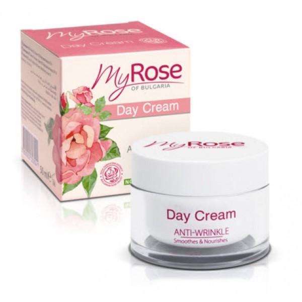 Крем для лица дневной против морщин Anti-Wrinkle Day Cream My Rose
