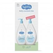 ПРОМО-набор Шампунь для волос и тела 400 мл + Гель для мытья 400 мл Bebble в подарочной упаковке