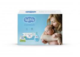 Набор Bebble Essentials (Крем от опрелостей 60мл;Шампунь д/волос и тела 200мл;Влажные салфетки 64шт)