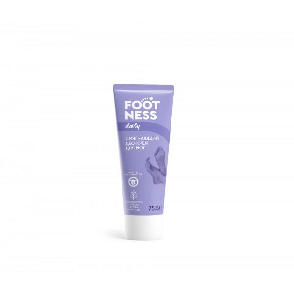 Смягчающий Део-крем для ног 3 в 1 FOOTNESS Soft deo cream