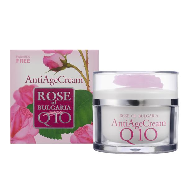 Крем для лица Антивозрастной Q10 Rose of Bulgaria