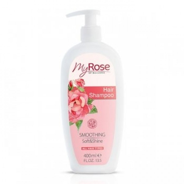 НОВИНКА Шампунь для волос My Rose OF BULGARIA 400 мл